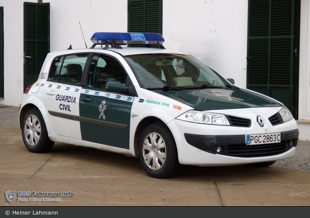 Cala Rajada - Guardia Civil - FuStW