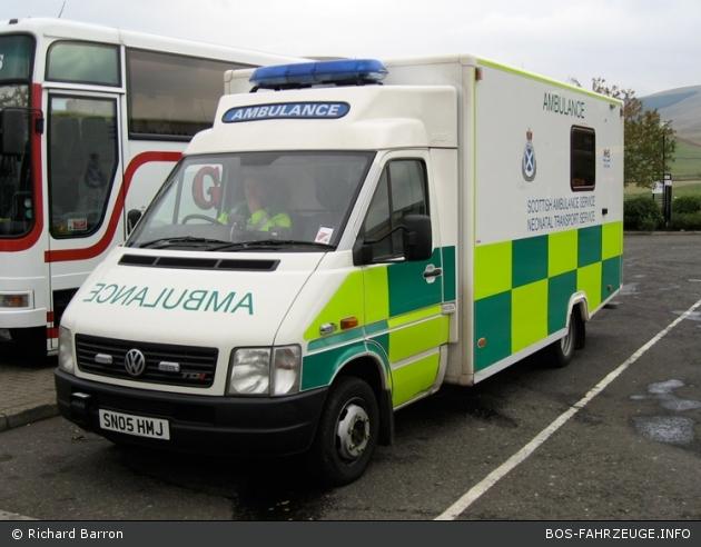 Abington - Scottish Ambulance Service - Baby-NAW