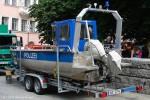 BePo - Mehrzweckboot auf Trailer