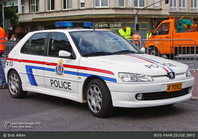 A 7062 - Police Grand-Ducale - FuStW (a.D.)