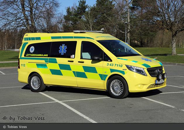 Jönköping - Ambulanssjukvård Jönköpings Län - Lättvårdsambulans - 3 43-7110