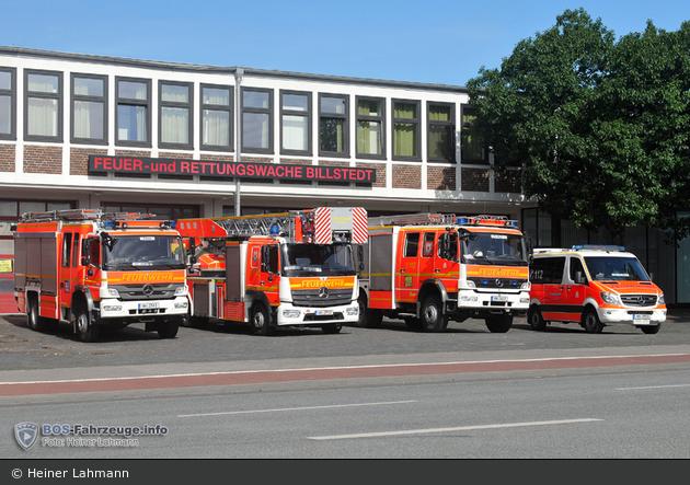 HH - BF Hamburg - F 25 Billstedt - HLZ (08/2019)