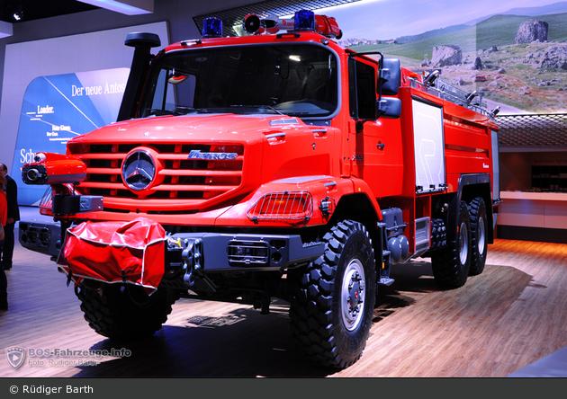 Mercedes-Benz Zetros 2733 A - Rosenbauer - FLF Buffalo 6100/750/250