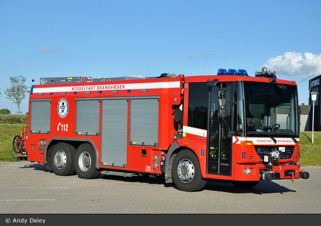 Middelfart - Trekantområdets Brandvæsen - TLF - A1