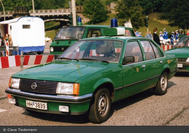 HH-3839 - Opel Rekord - FüKw (a.D.)