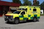 Hofors - Landstinget Gävleborg - Ambulans - 3 26-9280 (a.D.)
