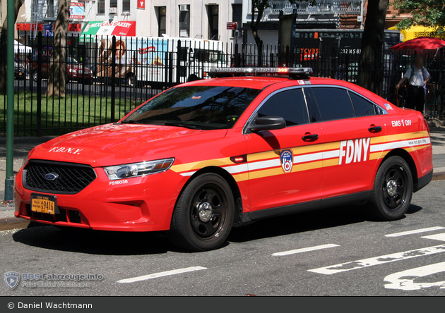 FDNY - EMS - EMS Division 1 - PKW