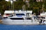Airlie Beach - Queensland Police Service - Küstenstreifenboot QPV DAMIAN LEEDING