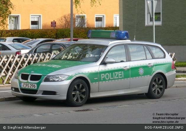 A-PS 296 - BMW 3er Touring - FuStW - Kempten