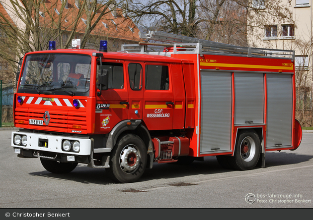 Wissembourg - SDIS 67 - LF 20/30 - FPT