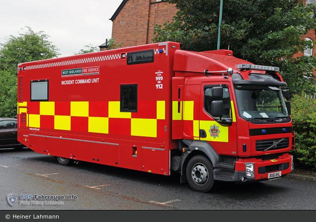 Birmingham - West Midlands Fire Service - ICU