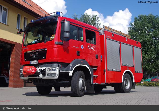 Czarnków - PSP - HLF - 411P21