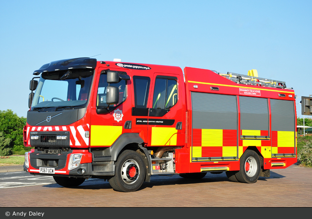 Ruthin - North Wales Fire and Rescue Service - WrL