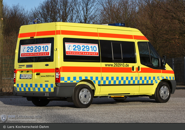 292910 Krankentransport Hamburg - KTW (HH-HR 2018)