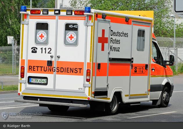 Rotkreuz Hannover 48/85-02
