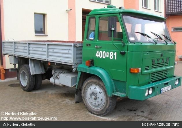 Augustów - KP PSP - LKW - 400B81