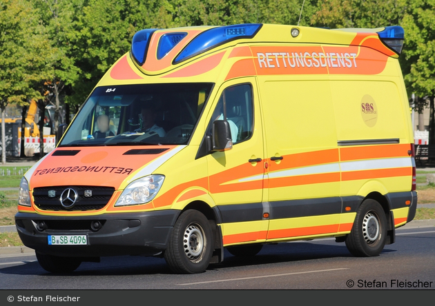 Krankentransport SOS Assistance - KTW (B-SB 4096)