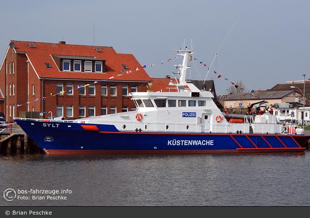 """Wasserschutzpolizei - Husum - Küstenboot """"Sylt"""""""