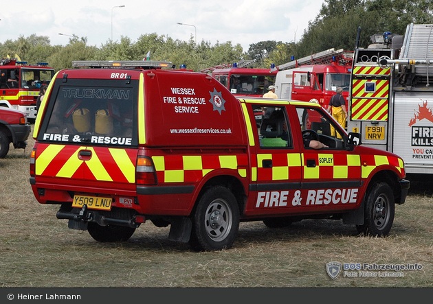 Sopley - Wessex Fire & Rescue Service - L4V