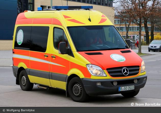 Krankentransport Gorris - KTW (B-GO 2033)