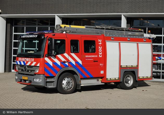 's-Hertogenbosch - Brandweer - HLF - 21-2032