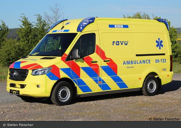 Utrecht - Regionale Ambulance Voorziening Utrecht - RTW - 09-132