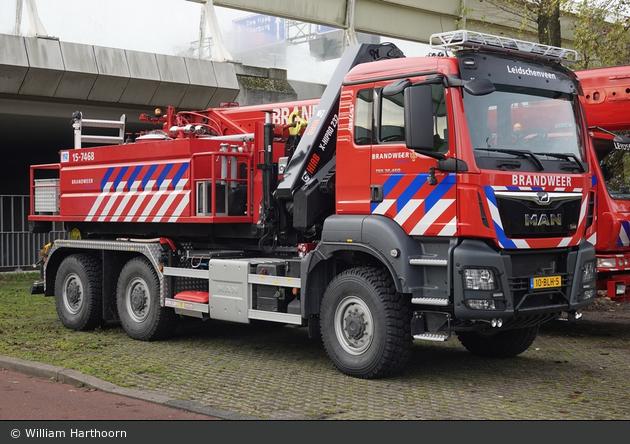 den Haag - Brandweer - WLF-Kran - 15-7480