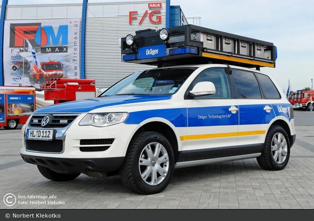 VW Touareg - Ziegler - Dräger-Promotion-Fahrzeug