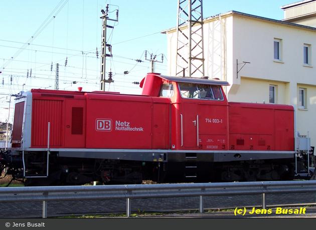 Mannheim - Deutsche Bahn AG - Rettungszug (Lok 2)