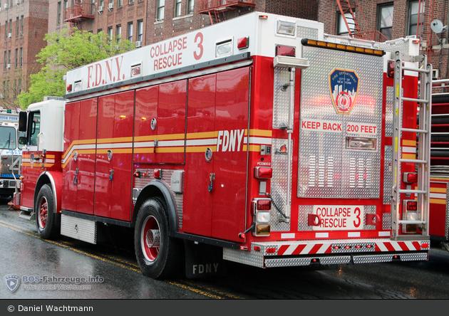FDNY - Bronx - Collapse Rescue 3 - GW