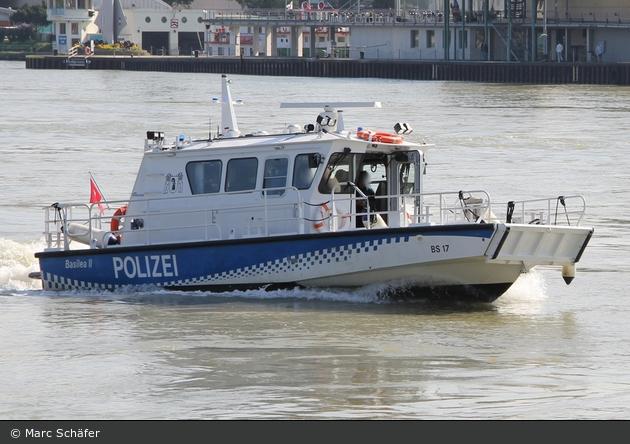 """Basel - KaPo - Polizeipatrouillenboot """"Basilea II"""""""