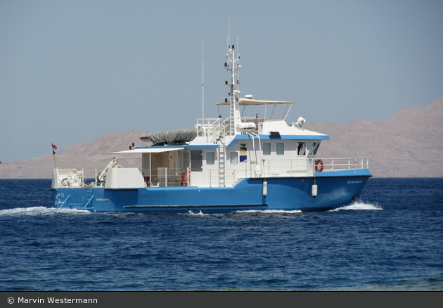 Sharm el Sheikh - National Parks of Egypt - Patrouillenboot RED SEA EXPLORER