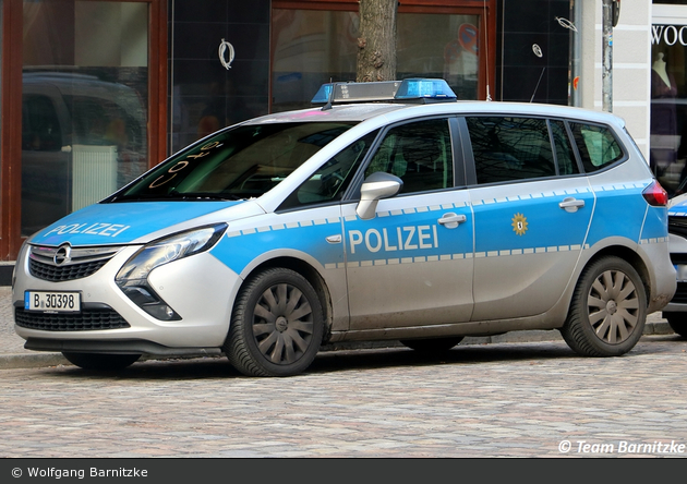 B-30398 - Opel Zafira Tourer - FuStW