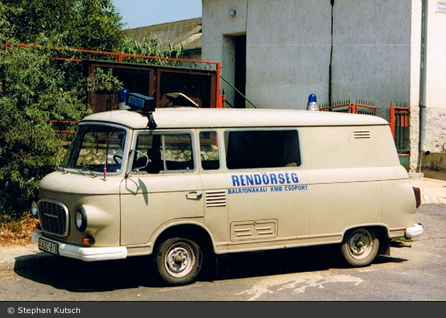 Balatonakali - Rendőrség - FuStW