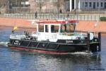 WSA Berlin - Schub- und Aufsichtsboot - Spree
