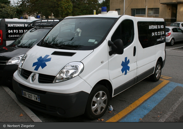 Cagnes-sur-Mer - Ambulances Antenne du Midi - KTW