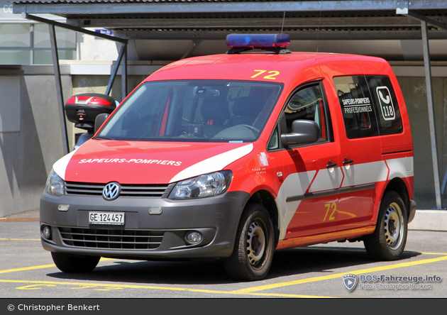 Genève - SIS - Botenfahrzeug - César 72