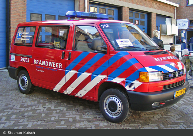 Arnhem - Brandweer - MZF - 39-763 (a.D.)