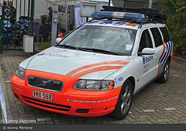 Antwerpen - Federale Politie - Wegpolitie - FuStW