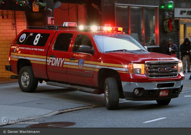 FDNY - Manhattan - Battalion 08 - ELW