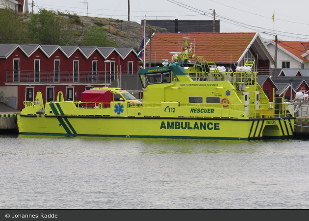 "Donsö - Northern Offshore Services - Ambulansbåt ""M/V Rescuer"" - 3 51 5890"