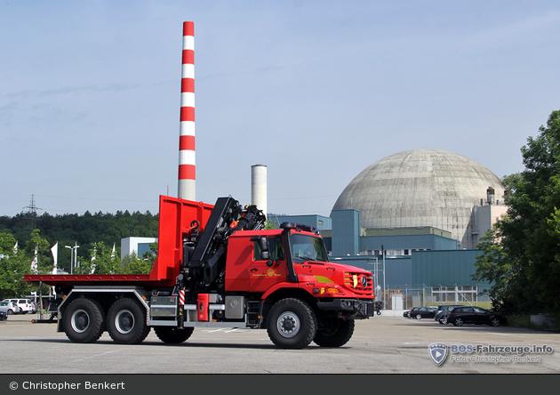 Däniken - BFW Kernkraftwerk Gösgen - WLF