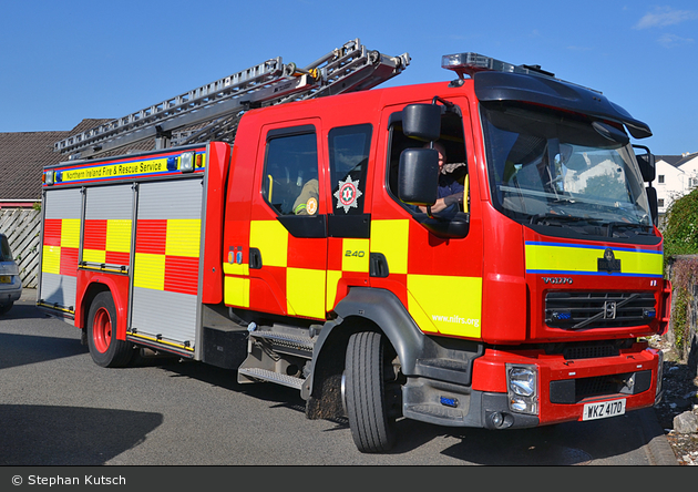 Ballycastle - Northern Ireland Fire and Rescue Service - WrL