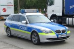 Polizei Hessen - BMW 525 touring - FuStW