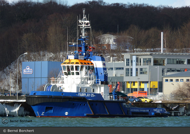 Sassnitz - Notschlepper - Fairplay 25