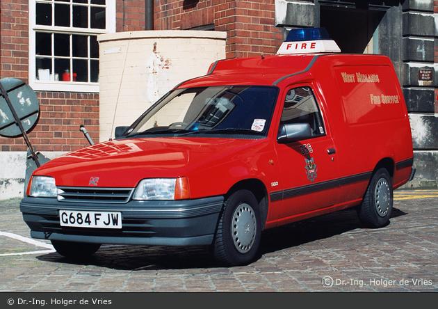 Birmingham - West Midlands Fire Service - Car (a.D.)