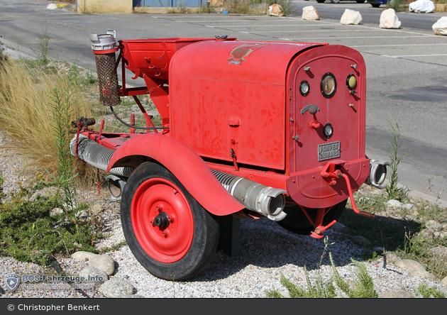 Elne - Sapeurs Pompiers - FwAh-Pumpe - MPR (a.D.)