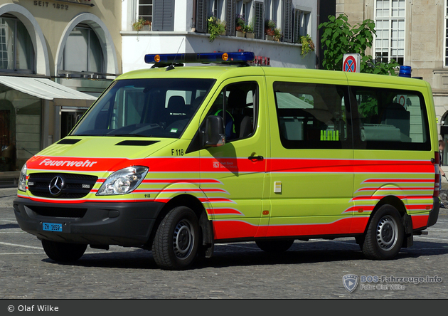 Zürich - Schutz & Rettung - VAF - F 118