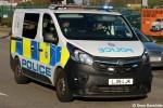 London - British Transport Police - FuStW