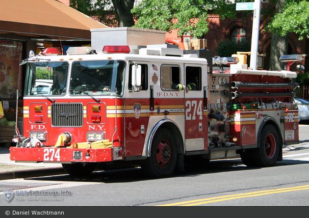 FDNY - Queens - Engine 274 - TLF